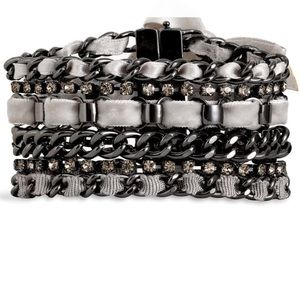 Juicy Couture Ribbon Multi Chain Bracelet